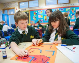 Ballyholme Picture of pupils learning